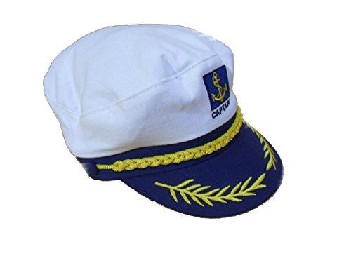 C63-Marineblau Blau Sailor Captain Hat/Cap Nautical Marine Fancy Kleid