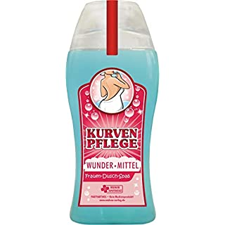 Andrea Verlag Spaß Duschbäder Duschbad Duschgel Shampoo zum Geburtstag Geschenk für Männer Herren Damen Frauen (Kurvenpflege 33005)