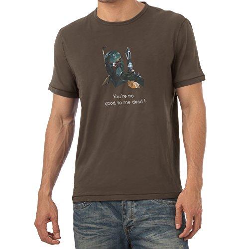 NERDO - Poly Boba - Herren T-Shirt Braun