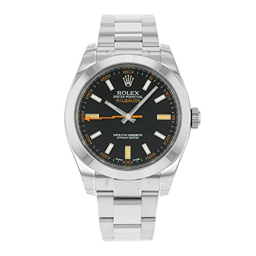 Rolex Milgauss 116400GV Edelstahl Automatik Herren-Armbanduhr