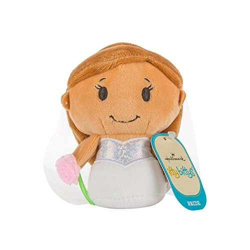 "Hallmark 25476594 ""Bride Itty Bitty"" Plush Toy"