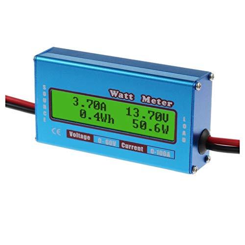 Descripción: vatímetro extremadamente útil. Más fácil de medir el flujo de corriente a jugar con un amperímetro regular. Precision Alu-Chrom resistor de detección de corriente, con la resistencia sólo 0.001 Ohms y los circuitos que extrae solamente 7...