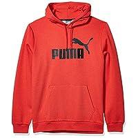 PUMA Men's Essential+ Hoody Fleece, High Risk Red Heather, S