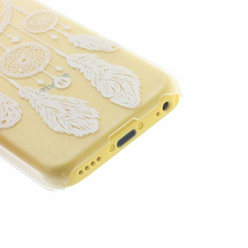 MOONCASE Etui pour Apple iPhone 5C Hard Housse Coque Case Etui Cover Shell X08 X07 #1214
