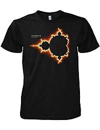 Geek Mandelbrot Set Initial Fractal Image Science - Physics - Nerd inspired 701093 T-Shirt