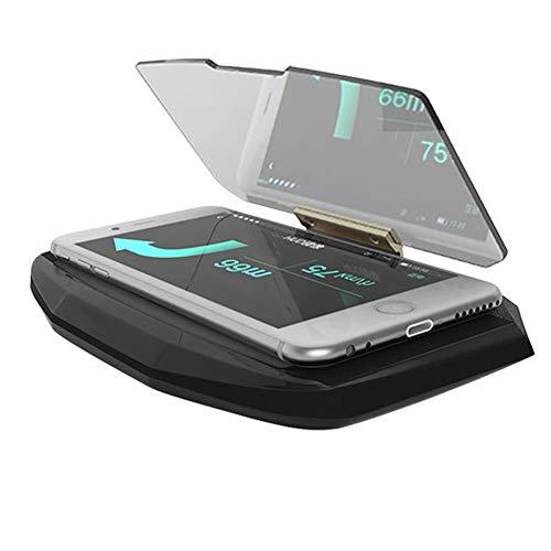 Remaxm Auto Hud Heads Up Display mit Kapuze Video, Neu Auto GPS Phone Hud Mobile Navigation Halter Heads Up Projektion Display Halter -