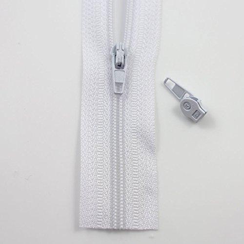 Beads4Crafts 5metros de cremallera continua y 10unidades tamaño 3* 26colores * cremalleras cojines tapicería * Envío gratuito al Reino Unido *