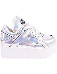 Buffalo Womens 1330-6 Pearl Rainbow Shiny Synthetic Shoes