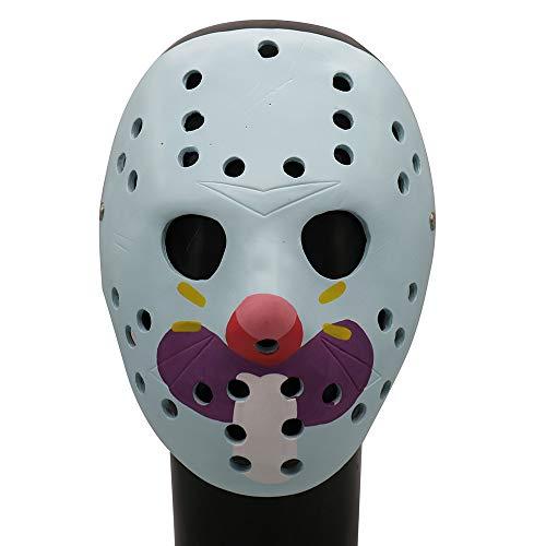 Kostüm Realistische Scary - QHJ Halloween Kostüm Party Maske Scary Props Relaxed Realistische Masken Cosplay Halloween Kleid Ghost Horror Helloween Kostüm Party (C)