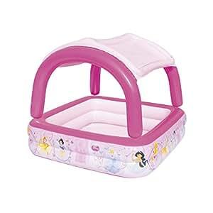 Bestway Disney Princess Piscine gonflable + Toit amovible 147 x 147 x 122 cm/265 L