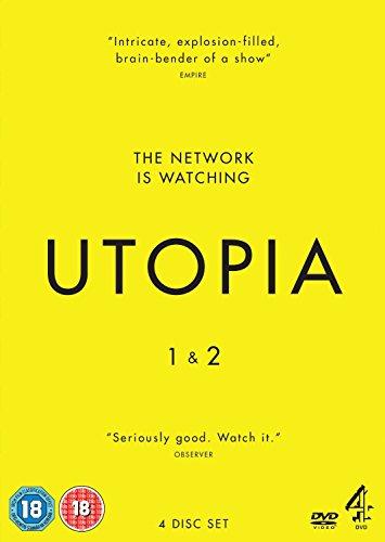 Utopia - Series 1-2 [DVD] [Reino Unido]
