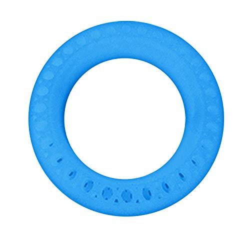 Preisvergleich Produktbild Kunstleder-Reifenüberzug Luminous Honeycomb Solid Tubes Ersatzreifen Reifen Kompatibel mit Xiaomi Xiao Mi Mijia M365 Elektroroller 8, 5 Zoll Blau Reifenabdeckung für Elektroroller