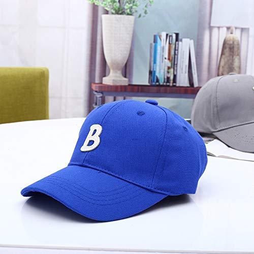 mlpnko Brief HarteBaseballmütze Neue Kinder Hut Baby Mütze Baby Visier blau 50-52cm geeignet für 2-6 Jahre - Tintenfisch Kostüm Baby