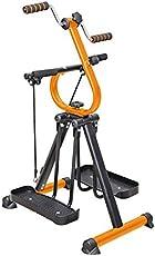 Master Gym Fitnessgerät Heimtrainer | Crosstrainer, Walker, Beintrainer und Armtrainer in einem Gerät - Ganzkörpertrainer