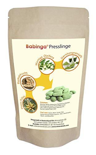 Babinga Pinien Pine Pollen Pulver (99% Zellwandgebrochen) - Moringa Blattpulver - Baobab...