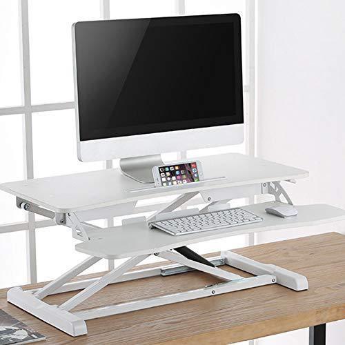 LOVEPET Stehender Bürohub Computertisch Desktop-Notebook-Schreibtisch Klapphalterung Verschieben...