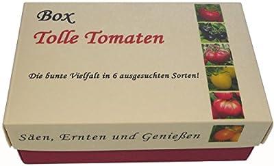 Box - Tolle Tomaten - Anzuchtset - Säen, Ernten und Genießen - Das ultimative Geschenk für Tomaten Fans! von Die ultimative Geschenkidee - Box Tolle Tomaten - Anzuchtset - Du und dein Garten