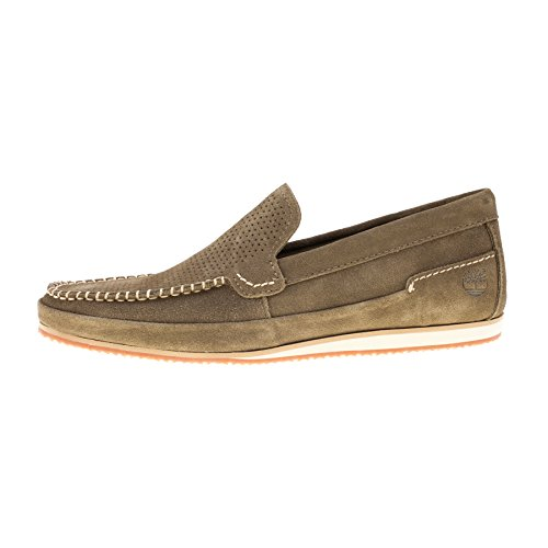 Timberland Suede Loafers 6726B Olive Green