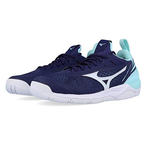 Mizuno Wave Luminous AAura/Wht/BlueLight - 6/39