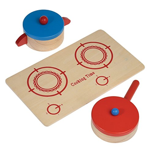 Wooden Cooking Pretend Play Set