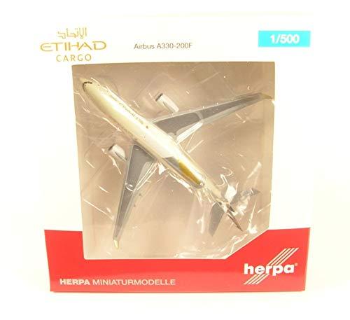 Herpa 532716 Etihad Cargo Airbus A330-200F