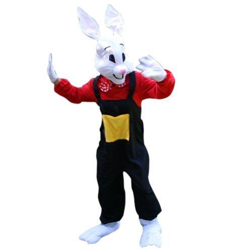 Hasen-Kostüm, Su22 Gr. L-XL, Hase Karnevalskostüm für Männer und Frauen, Hasen-Kostüme für Fasching Karneval, als Karnevals- Fasnachts-Kostüm, Tier-Kostüme Faschings-Kostüme Erwachsene  (80 Motto Party Kostüm Für Paare)