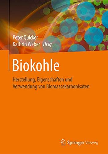Biokohle: Herstellung, Eigenschaften und Verwendung von Biomassekarbonisaten -