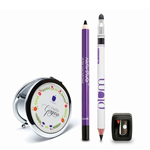 Plum Bestselling Kajal Duo, 15g with Free Bag