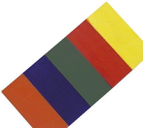 RAYHER 3114800 Modelierwachs-Set, 5 Farben, SB-Beutel 1 Set