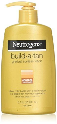 Neutrogena Lotion bronzante Build-a-Tan - Un soupçon de couleur pour augmenter le bronzage graduellement - 200 ml