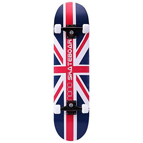 Penny Board Complete Skateboards Cruiserboosted Board 7-stöckiges Ahorndeck für Erwachsene für Erwachsene, Kinder-Skateboard für Anfänger und Profis,G - Penny Board-lager