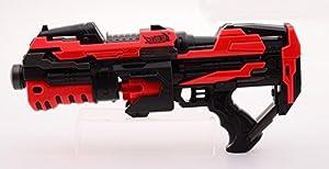 Serve & Protect-Disfraz Rotating Shooter con 10Dards, 26987, 45cm