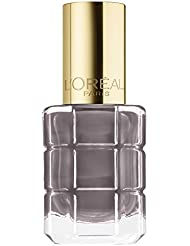L'Oréal Paris Color Riche Le Vernis Nagellack mit Öl in Grau/Pflegender Farblack in warmem Grau mit Glanz-Effekt/# 664 Greige Amoureux/1 x 14ml