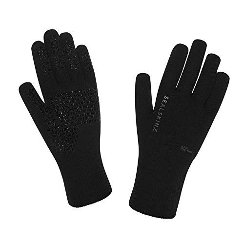 SEALSKINZ OUTDOORHANDSCHUHE ULTRA GRIP   GUANTES PARA HOMBRE  COLOR NEGRO  TALLA L