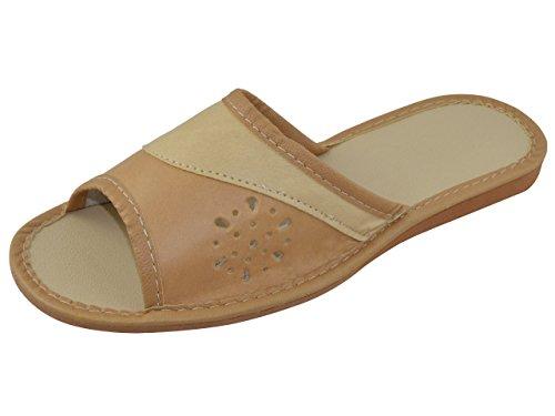 Vera Pelle Elegante da donna pantofole, Infradito TP-W-12