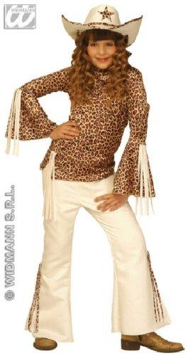 Kostüm Kind Monkey (Kinder-Kostüm-Set Texas-Girl, Größe 116)