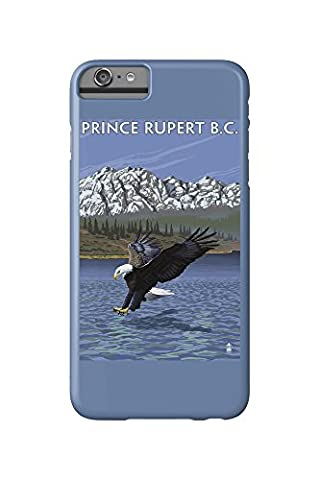 Prince Rupert, BC Canada - Eagle Fishing (iPhone 6 Plus Cell Phone Case, Slim Barely There) (Bc Eagles)