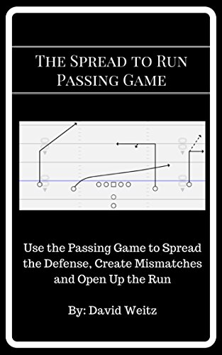 The Spread to Run Passing Game: Use the Passing Game to Spread the Defense, Create Mismatches and Open Up the Run (English Edition) por David Weitz