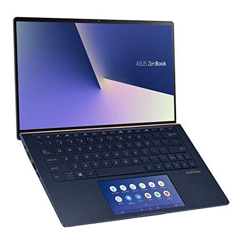 ASUS ZenBook 13 UX334FL-A5821TS Intel Core i5 10th Gen 13.3-inch FHD Thin & Light Laptop (8GB RAM/512GB PCIe SSD/Windows 10/MS-Office 2019/2GB NVIDIA GeForce MX250 Graphics/1.27 Kg), Royal Blue