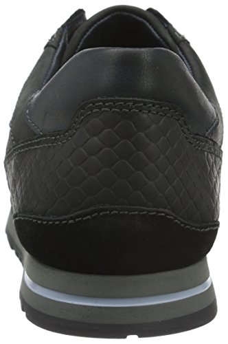 Fretz Men Rocket, Baskets Basses Homme Noir - Schwarz (51 Noir)