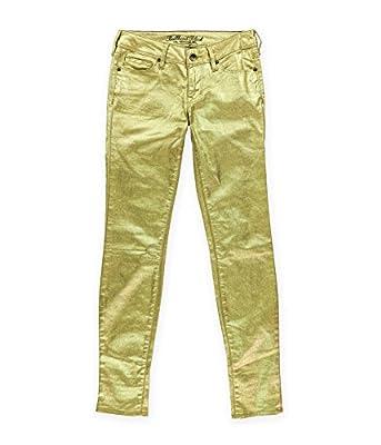 Bullhead Denim Co. Womens Sparkle Skinny Fit Jeans