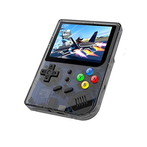 Open-Source-Spiel 16 GB Mini-Handheld 3,0-Zoll-Bildschirm Mini-Handheld-Kinder und nach Hause Retro-Spielkonsole (Schwarz) - La Source Mini