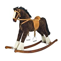 "Handmade Brand New Rocking Horse ""Titan"" from MJMARK"