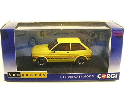 Corgi VA12509 Ford Fiesta MKI Festival in Prairie Yellow 1:43