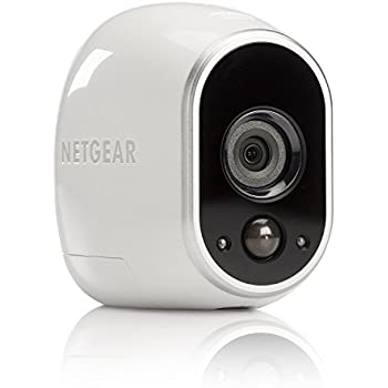 Netgear Arlo VMC3030-100EUS Telecamera Aggiuntiva Wi-Fi, Interno/Esterno, Visione Notturna