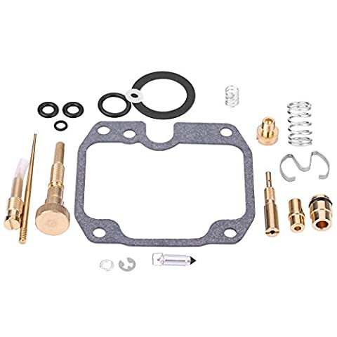 Qiilu Carburateur Carb Rebuild Kit Repair pour Yamaha Moto 4 YFM250 1989-1991