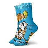 DailiH Unisexe Snoopy-sunmer Plans Casual Coton Crew Socks Sport Athletic Funny Socks Dress Chaussettes Haute Cheville 30CM
