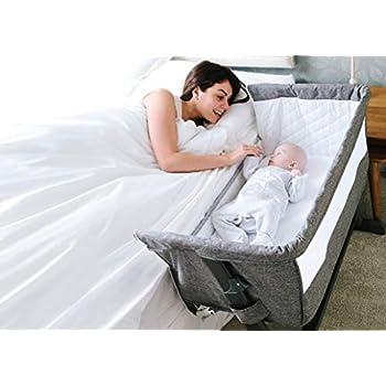 Babylo Bedside Cozi Sleeper Co-Sleeping Crib, Anti-Reflux