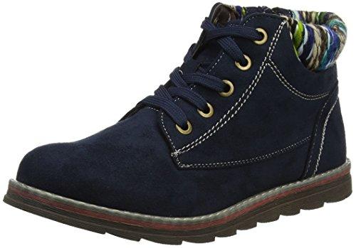 Lotus Women's Sequoia Ankle Boots, Blue (Navy Micro), 7 UK 41 EU