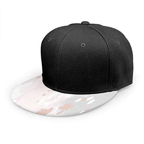 Wfispiy Gorra Plana Patrón sin Costuras abstracto02 (1) Gorra de béisbol clásica Sombrero de papá 100% algodón Tamaño Ajustable Suave